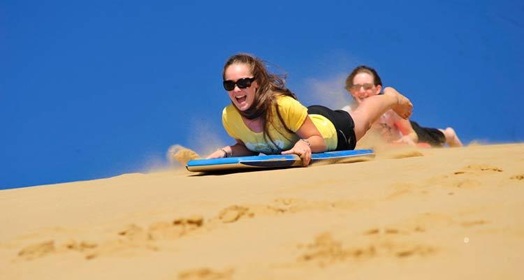hiekkalautailu